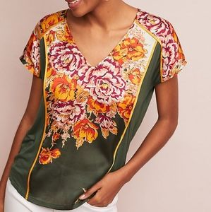 Anthropologie | TINY | silky front drawstring back